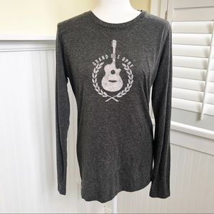 Grand Ole Opry Gray Marled Long-Sleeve Tee XXL